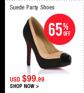Suede Party Shoes
