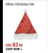 Glitter Christmas Hat