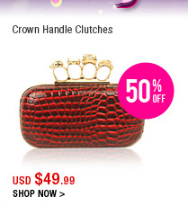 Crown Handle Clutches