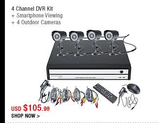 4 Channel DVR Kit