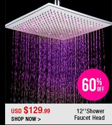 12''Shower Faucet Head