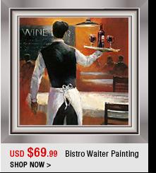 Bistro Waiter Painting