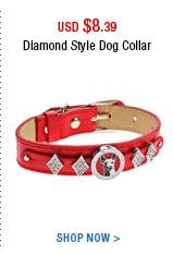 Diamond Style Dog Collar