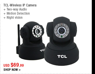 TCL-Wireless IP Camera