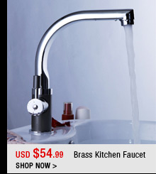 Brass Kitchen Faucet