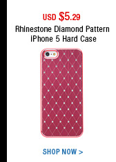 Rhinestone iPhone 5 Hard Case