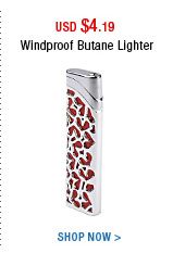 Windproof Butane Lighter