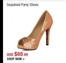 Sequin Party Shoes