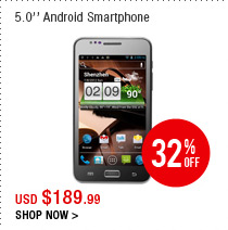 5.0'' Android Smartphone