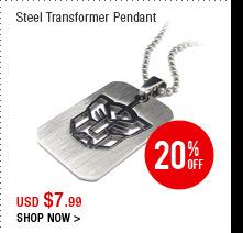 Steel Transformer Pendant