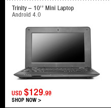 Trinity – 10'' Mini Laptop