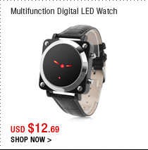 Multifunction Digital LED Watch
