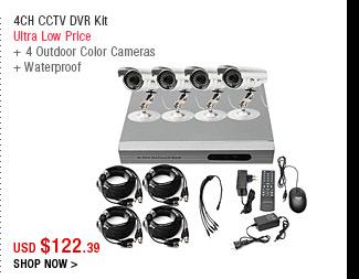 4CH CCTV DVR Kit