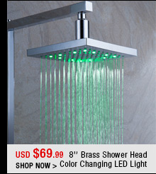 8'' Brass Shower Head