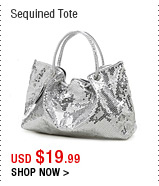 Sequined Tote