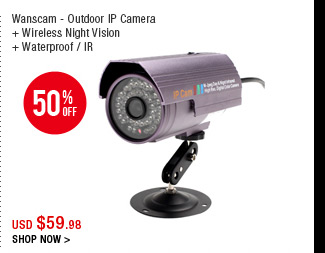 Wanscam - Outdoor IP Camera