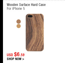 Wooden Surface Hard Case