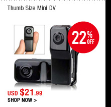 Thumb Size Mini DV