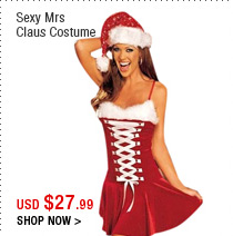 Sexy Mrs Claus Costume