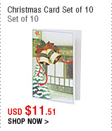 Christmas Card Set of 10