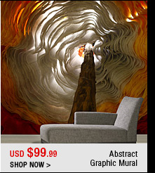 Abstract Graphics Mural