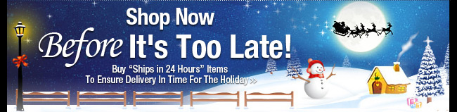 Shop Now Before It's Too Late!