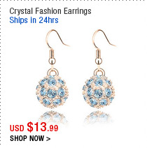 Crystal Fashion Earrings