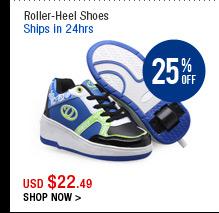 Roller-Heel Shoes
