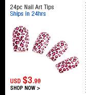 24pc Nail Art Tips