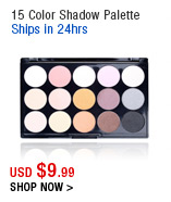 15 Color Shadow Palette