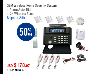 GSM Wireless Home Security System