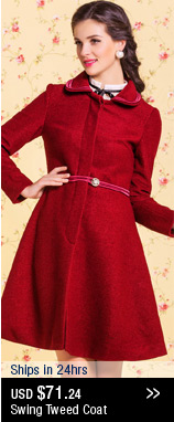 Swing Tweed Coat