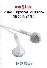 Stereo Earphones for iPhone
