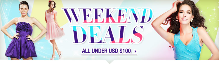 Weekend Deals All Under USD $100