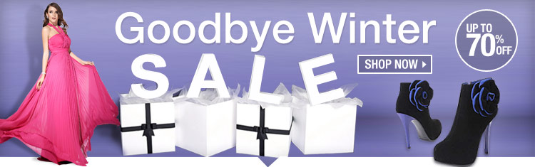 Goodbye Winter Sale