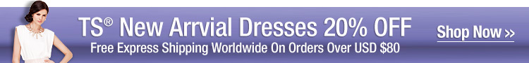 TS® New Arrvial Dresses 20% OFF
