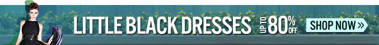 Little Black Dresses Up To 70% OFF
