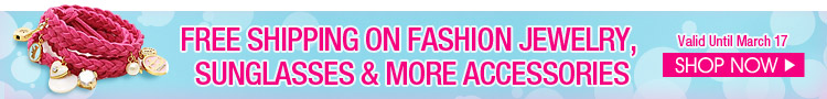 Free Shipping On Fashion Jewelry, Sunglasses & More Accessories