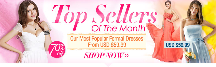 Top Sellers Of The Month