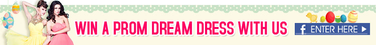 WIN Prom Dream Dress with us on Facebook