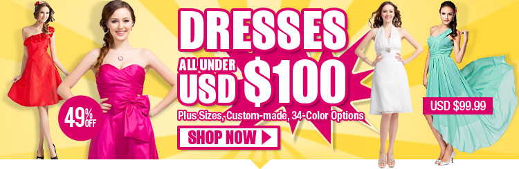 Dresses All Under USD $100