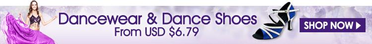 Dancewear & Dance Shoes From USD $6.79