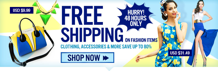 Free Shipping On Fashion