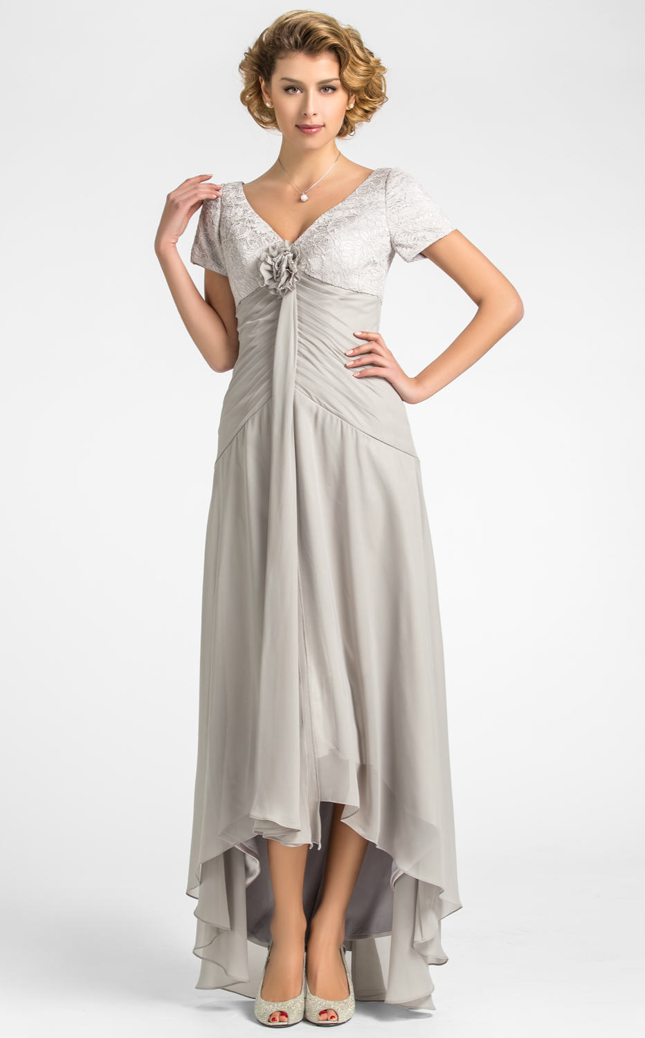 tea length mother of the bride dresses for summer_Other ...
