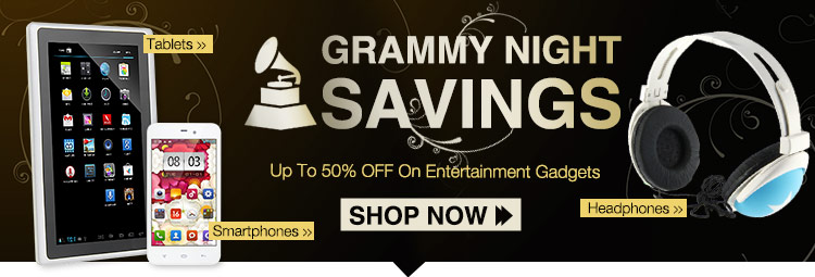 Grammy Night Savings