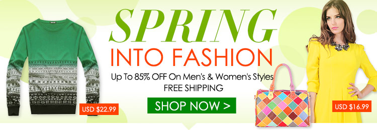 Spring Into Fashions