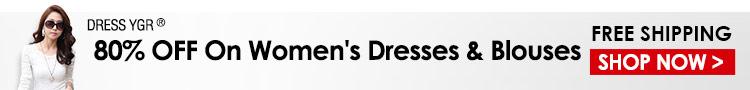 80% OFF On Women's Dresses & Blouses
