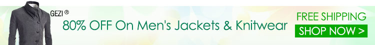 80% OFF On Men's Jackets & Knitwear