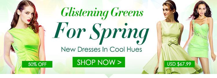Glistening Greens For Spring