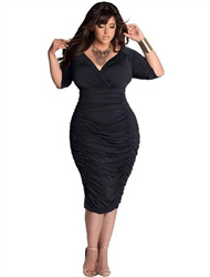 Cheap plus size christmas party dresses